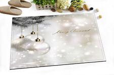 """Silver Xmas Tree Non-slip Door Floor Rug Mat Doormat Bath Home Carpet 24x16"""""""