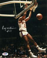 RAY WILLIAMS SIGNED AUTOGRAPHED 8x10 PHOTO NEW YORK KNICKS PSA/DNA