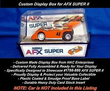 Custom Display Box : Aurora AFX SUPER II #1788-880 Red #4    Ready to Go!
