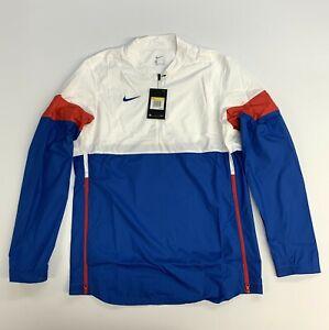 Nike Lockdown AO5858 1/2 Pullover Windbreaker Golf Jacket Mens Small New
