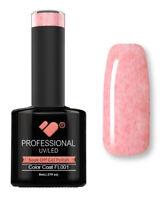 FL001 VB™ Line Candy Floss Red White - UV/LED soak off gel nail polish