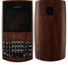 Skinomi Phone Skin Dark Wood Cover+Clear Screen Protector Film for Nokia X2-01