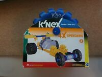 BRAND NEW K'NEX 4X SPEEDERS BUILDING TOY 37 PCS 10313/69947 🔥🔥 *NEW IN BOX*