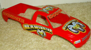 2004 Muscle Machines 1/24th Scale Die-Cast Raminator Dodge Monster Truck Body!