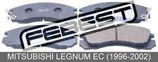 Pad Kit, Disc Brake, Front For Mitsubishi Legnum Ec (1996-2002)