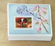 SPECIAL LOT Bhutan 1976 229 - Flowers - 50 Souvenir Sheets - MNH