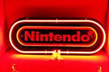 "New Nintendo 3D Caved Neon Light Sign 14"" Lamp Windows Display Decor"