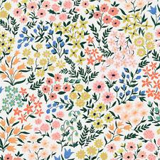 Organic Cotton Fabric, 'Meadow From Wildflower Range ' Cloud9 Cotton Sateen