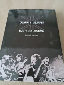Duran Duran - Live From London Deluxe Edition (DVD and CD, 2009)