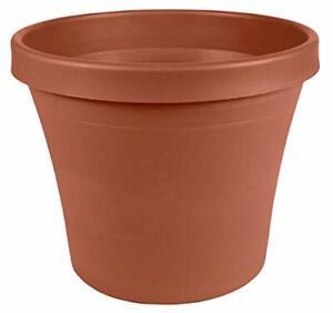"""Bloem Terra Plastic Pot Planter 6"""" Terra Cotta"""