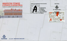 Spain 2019 FDC Corps Architectural Engineers 1v Set Cover Architecture Stamps