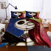 Single/Double/Queen/King Bed Doona/Duvet/Quilt Cover Set Corpse Couple Face