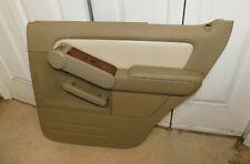 2007 08 09 10 Ford Explorer Passenger Right Rear Door Panel Tan OEM W/Warranty