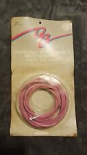 OLD SCHOOL BMX FREESTYLE NOS DIAMOND BACK BRAKE CABLES PINK HOLLYWOOD TRICKSTAR