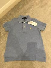 Ralph Lauren Chicos Azul Pálido Camiseta Talla 5 años ** L @ @ K ** BNWT