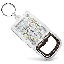 Acrylic Bottle Opener Keyring - Kitzbuhel Austria Town Europe Travel Map  #45478