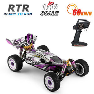 Wltoys 124019 High Speed Racing Car 60km/h 1/12 4WD Car Off-Road RTR 3 battery