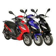 AGM Motors GMX 450 45 km/h 4 Takt 50 ccm sparsamer Motor Roller Mokick StVZO