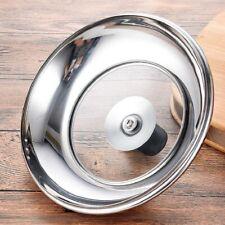 Couvercle en verre casserole wok Poêle lait Pan Couvercle en Acier Inoxydable Ja...