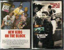 New Kids On The Block Cassettes Lot of 2 1st Album & Hangin' Tough Vintage 80s
