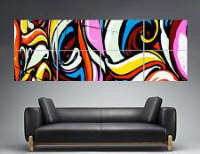 Graffiti Panorama Poster Grand format 168cm X 59,4CM Large Print