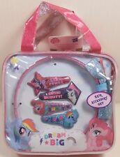 Hair Accessory Set MY LITTLE PONY Carry Bag Headband Snap Clips