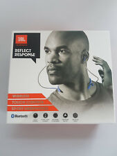 JBL Reflect Response Wireless Bluetooth Neckband Headphone Earphones - Blue