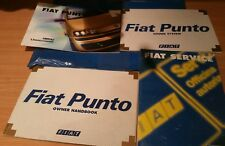 1993-1999 FIAT PUNTO OWNERS HANDBOOK MANUALS & wallet