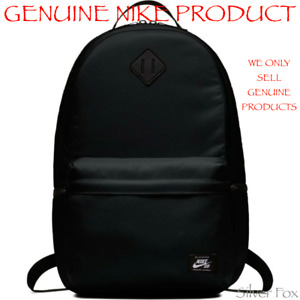 NIKE SB ICON BLACK BACKPACK SCHOOL TRAVEL SPORTS GYM BAG BRAND NEW WITH TAGS 26L