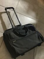 TUMI 26002D4 Alpha Ballistic Carry On Laptop Wheeled Rolling Bag Black Good
