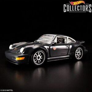 Hot Wheels 2019 RLC Redline Club Porsche 964 Black #4551 of 10000 In Protector