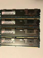 16GB Hynix (4x4GB) 2RX4 PC3-8500R DDR3 Server Memory  HMT151R7BFR4C-G7 DB AA