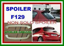 SPOILER ALETTONE  REPL ORIGINALE GTI PEUGEOT 207 GREZZO cod  F129G-TR129-1
