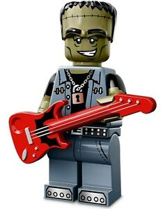 LEGO Minifigures Series 14 Monsters halloween Monster Rocker + guitar