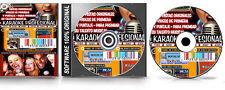 Karaoke Profesional de Pistas Originales Vídeos y Puntaje Software para PC