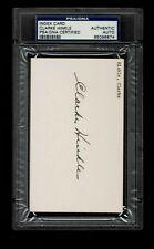 CLARKE HINKLE SIGNED  3 x 5 Index Card  AUTOGRAPHED PSA/DNA