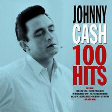 Johnny Cash - 100 Hits Cd4 NOTNOW NEU