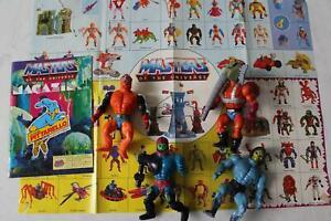 Mattel Konvolut Masters of the Universe Original 4 Actionfiguren 80er Jahre (3)
