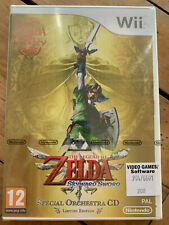 Zelda Skyward Sword Wii Limited Edition With Orchestra CD (BRAND NEW & SEALED)