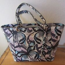 GUESS Marciano Blue Purple White Butterfly KAMRYN Tote Bag Purse NWT