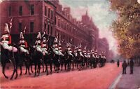 POSTCARD MILITARY -  TROOP OF HORSE GUARDS - LONDON   -  TUCK