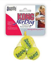 KONG AIR DOG 3-PACK X-Small Squeaker Tennis Balls - Dog Fetch Toy (AST5)