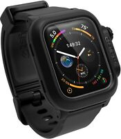 Catalyst Protective Waterproof 330ft Case for Apple Watch sires 4 5 44mm Black