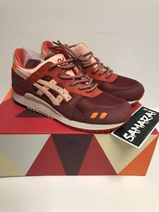 RONNIE FIEG KITH X ASICS GEL LYTE III VOLCANO - MEN SIZE 9.5 - 100% AUTHENTIC 3