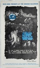 RGP 71 Amboy Dukes Stooges Up Grande Ballroom 1969 Concert Handbill Postcard