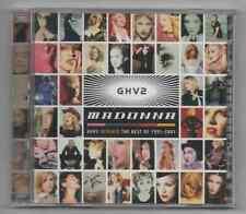 Madonna GHV2 Remixed 2001 Ultra Rare Promo 2 Disc Best of Remixes 1991-2001 CD