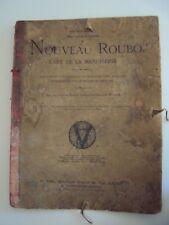 livre d'architecture Le Nouveau Roubo l'Art de la Menuiserie 1889 (95 planches)