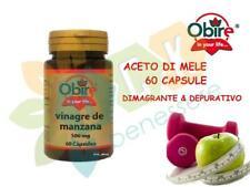 OBIRE®- Aceto Di Mele 500 Mg 60 Capsule Integratore Naturale Dimagrante Peso