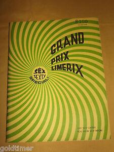 VINTAGE FUNNY WEIRD CARTOON 1966 GRAND PRIX LIMERIX  VOL 4 BOOK