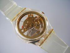 """Swatch GENT """"Golden Jelly"""" + artículo nuevo + club reloj nº 1-raramente extremadamente!!!"""